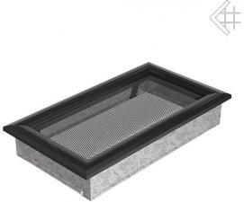 Вентиляционная решетка Kratki 17x30 Оскар черная