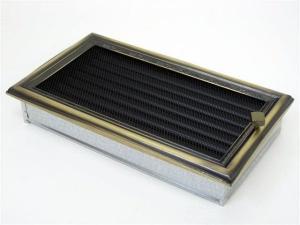 Вентиляционная решетка Kratki 17x30 Рустик с жалюзи