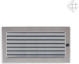 Вентиляционная решетка Kratki 17x30 Стальная с жалюзи