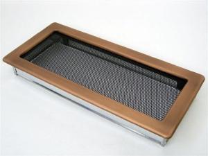 Вентиляционная решетка Kratki 17x37 Гальваника под медь