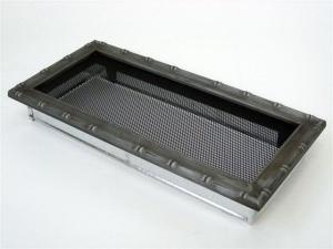 Вентиляционная решетка Kratki 17x37 Диана хром