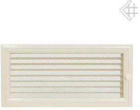 Вентиляционная решетка Kratki 17x37 Оскар бежевая с жалюзи