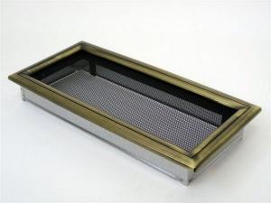 Вентиляционная решетка Kratki 17x37 Оскар латунь
