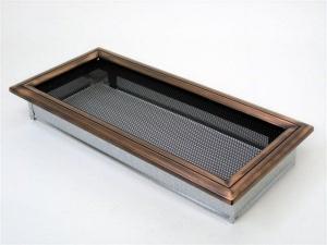 Вентиляционная решетка Kratki 17x37 Оскар медь