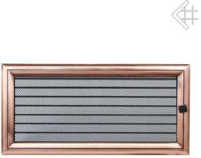 Вентиляционная решетка Kratki 17x37 Оскар медь с жалюзи