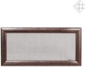 Вентиляционная решетка Kratki 17x37 Оскар черная/медь