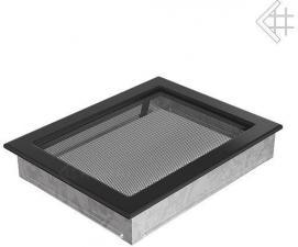 Вентиляционная решетка Kratki 17x37 Черная
