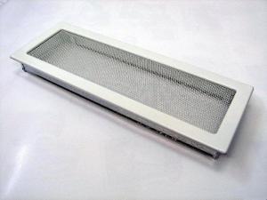 Вентиляционная решетка Kratki 17x49 Белая