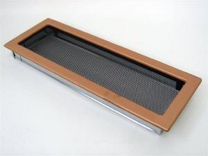 Вентиляционная решетка Kratki 17x49 Гальваника под медь