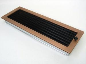 Вентиляционная решетка Kratki 17x49 Гальваника под медь с жалюзи