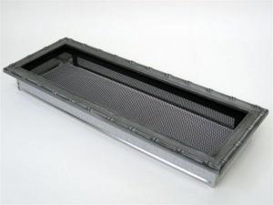 Вентиляционная решетка Kratki 17x49 Диана хром