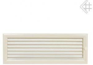 Вентиляционная решетка Kratki 17x49 Оскар бежевая с жалюзи