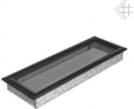 Вентиляционная решетка Kratki 17x49 Оскар черная