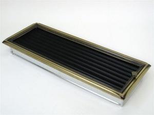 Вентиляционная решетка Kratki 17x49 Рустик с жалюзи