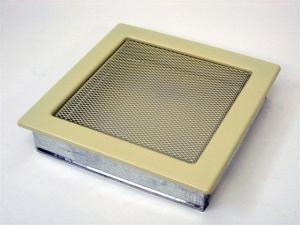 Вентиляционная решетка Kratki 22x22 Бежевая