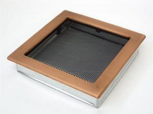 Вентиляционная решетка Kratki 22x22 Гальваника под медь
