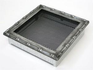 Вентиляционная решетка Kratki 22x22 Диана хром
