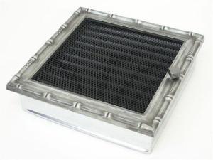 Вентиляционная решетка Kratki 22x22 Диана хром с жалюзи