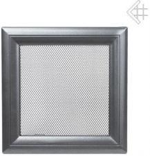 Вентиляционная решетка Kratki 22x22 Оскар графитовая