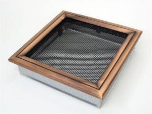 Вентиляционная решетка Kratki 22x22 Оскар медь