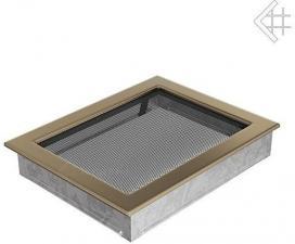 Вентиляционная решетка Kratki 22x30 Гальваника под золото