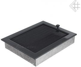 Вентиляционная решетка Kratki 22x30 Графитовая с жалюзи