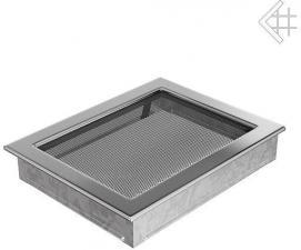 Вентиляционная решетка Kratki 22x30 Никелированная