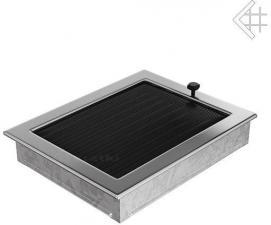Вентиляционная решетка Kratki 22x30 Никелированная с жалюзи