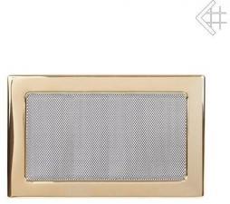 Вентиляционная решетка Kratki 22x30 Полированная латунь