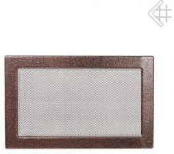 Вентиляционная решетка Kratki 22x30 Черная/медь пористая