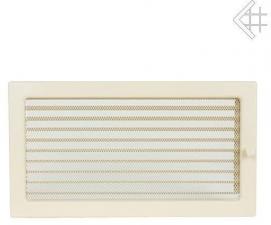 Вентиляционная решетка Kratki 22x37 Бежевая с жалюзи