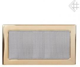 Вентиляционная решетка Kratki 22x37 Полированная латунь
