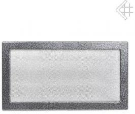 Вентиляционная решетка Kratki 22x37 Черная/хром пористая