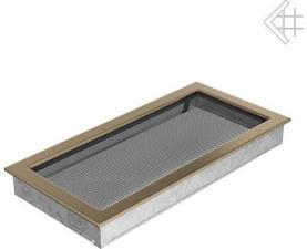 Вентиляционная решетка Kratki 22x45 Гальваника под золото
