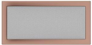 Вентиляционная решетка Kratki 22x45 Гальваника под медь