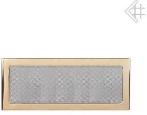 Вентиляционная решетка Kratki 22x45 Полированная латунь