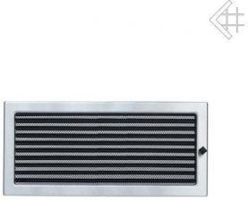 Вентиляционная решетка Kratki 22x45 Стальная с жалюзи