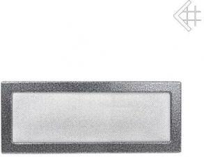 Вентиляционная решетка Kratki 22x45 Черная/хром пористая