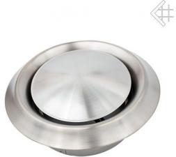 Вентиляционная решетка Kratki Анемостат стальной д.100