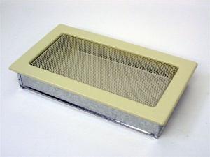 Вентиляционная решетка Kratki 17x30 бежевая