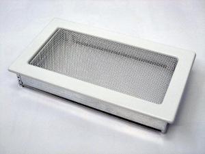 Вентиляционная решетка Kratki 17x30 белая