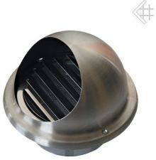 Вентиляционная решетка Kratki допуска воздуxа наружная д.100