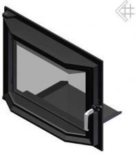 Дверца в сборе для топок Antek/Maja (призма)