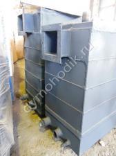 Пиролизный дровяной котел Гейзер мощностью 75 кВт