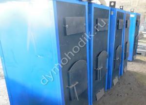 Пиролизный промышленный котел Гейзер 100 кВт