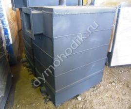 Пиролизный промышленный котел длительного горения Гейзер 100 кВт