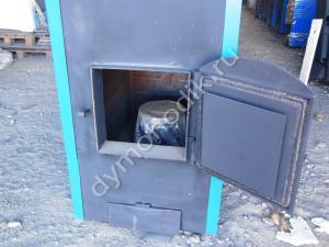 Цена на промышленный пиролизный котел длительного горения Гейзер 100 кВт со скидкой