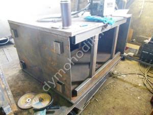 Производство пиролизного котла на угле и дровах Гейзер 500 кВт