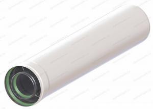 удлинитель коаксиального дымохода 60х100-500 для газового котла