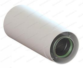 удлинитель коаксиального дымохода 60х100-250 для газового котла